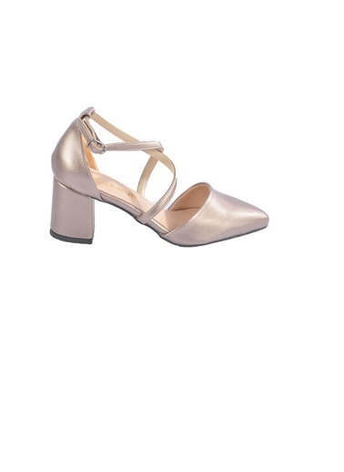 Maje 1901 Platin Kadın Topuklu Ayakkabı Gümüş